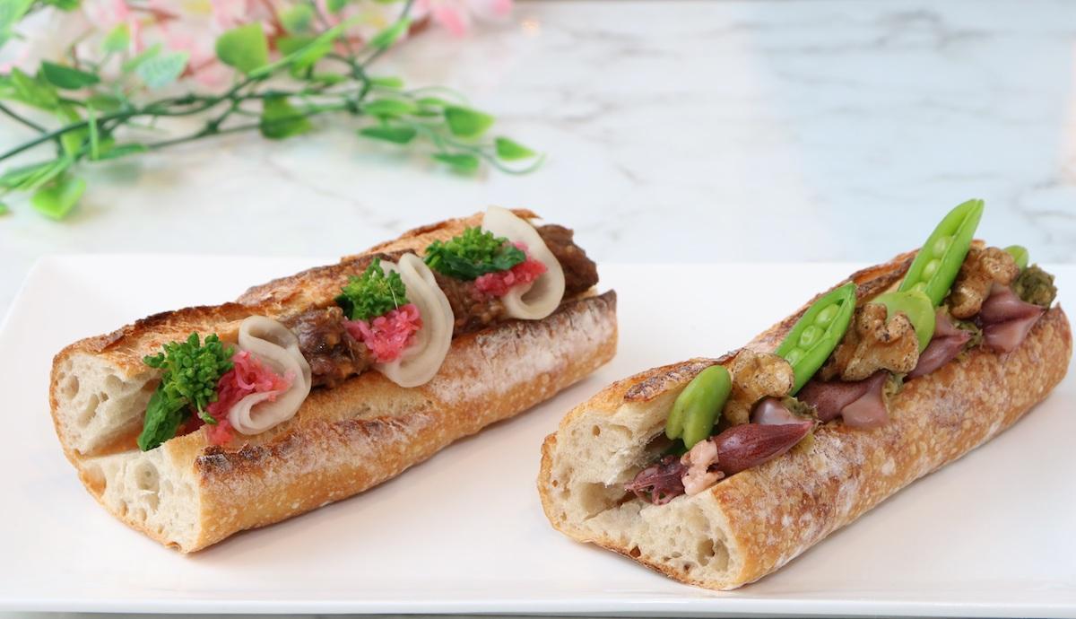 「リベルテ・パティスリー・ブーランジェリー」が「フランス展」の会場限定で提供する「春香る 幸せサンドイッチ」