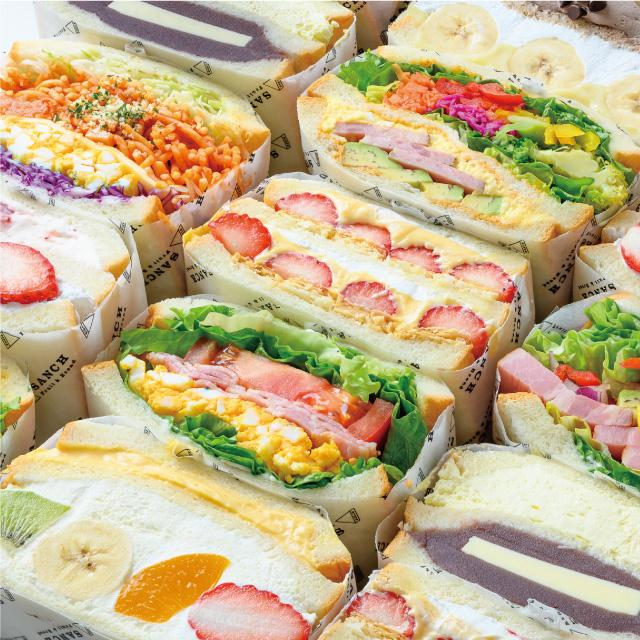 「SANCH TOKYO」が作るサンドイッチ(イメージ)