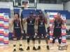 新宿の3人制プロバスケチーム「サンカク」、プロリーグで初のラウンド優勝