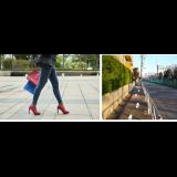 西新宿で「FUTOMOMOすっきりウォーク」 歩き方意識、イルミ巡りも