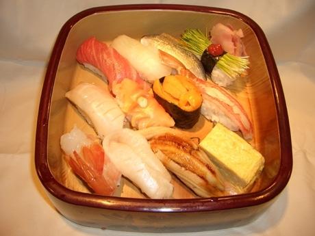 「樽寿司市場店」のおまかせ寿司
