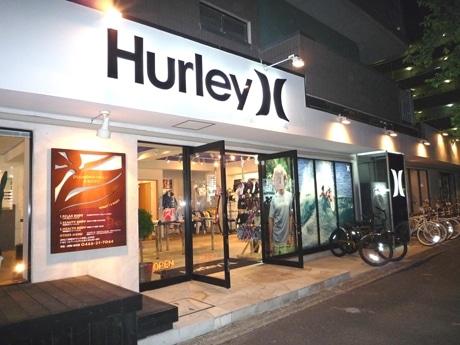 現在プレオープン中の「HURLEY」のオンリーショップ