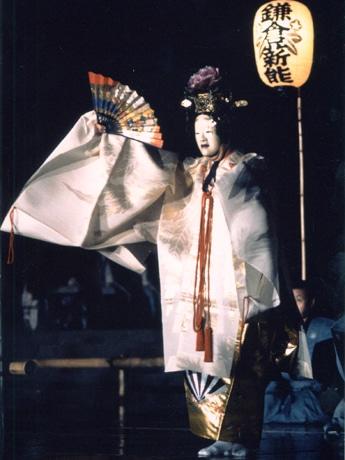 今年の「鎌倉薪能」でも上演される演目、「羽衣」より