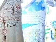 「茅ヶ崎っ子」の画家が描くTシャツ展-日常の茅ヶ崎を直接描く