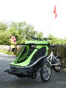 ベビーカー付き「3輪自転車」-逗子の専門店が輸入販売開始