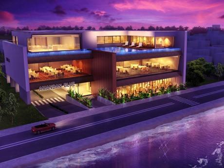 鎌倉・材木座のシーサイドに2011年春オープンするレストラン兼婚礼施設「AMANDAN BLUE」