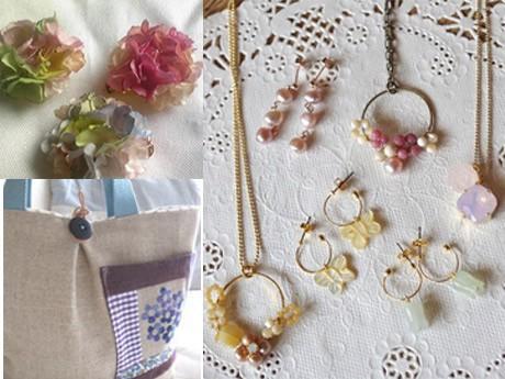 春を感じる花柄や植物モチーフの雑貨たちを多数販売