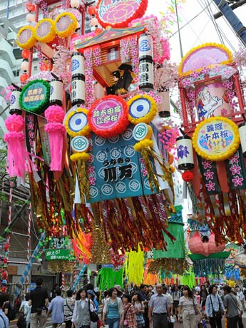 平塚市中心街に約500本もの七夕飾りがお目見えする「ひらつか七夕まつり」開催へ