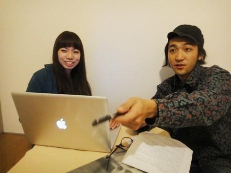 「輪輪シネマ」を立ち上げた茅ヶ崎生まれの高林さん(右)と辻堂生まれの長谷川さん