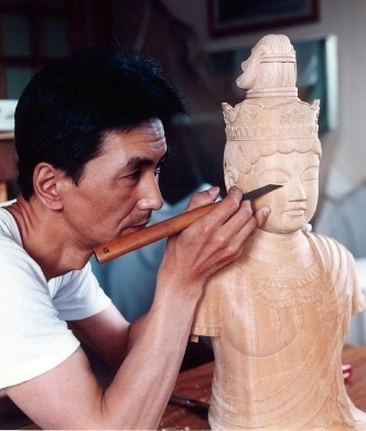 仏師が案内する工房と長谷寺仏像...