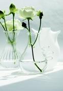 茅ヶ崎の熊澤酒造内ギャラリーでガラスの器展-ランプワーク作業も公開