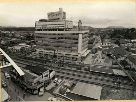 フジサワ名店ビル(1966年頃)