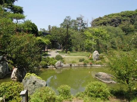 旧吉田邸地区の日本庭園
