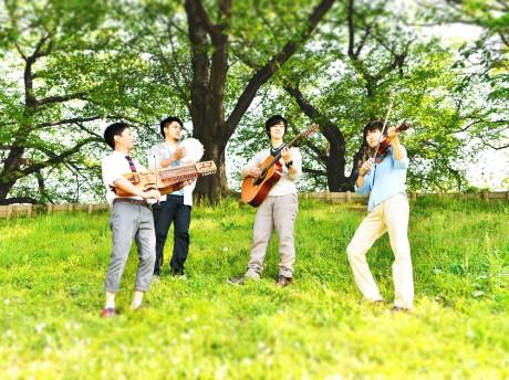 北欧伝統音楽を軸にした京都発のインストバンド「ドレクスキップ」
