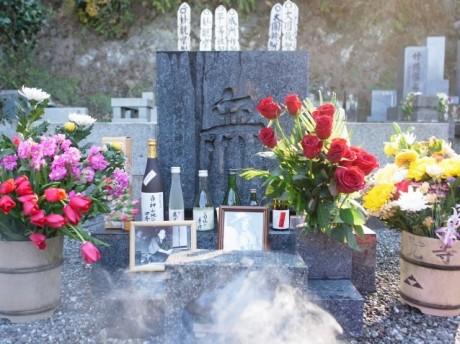円覚寺にある小津安二郎監督のお墓