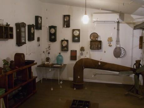 「TOKAとねじまきの部屋」の展示の様子