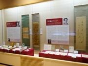 夏目漱石と芥川龍之介のコーナー