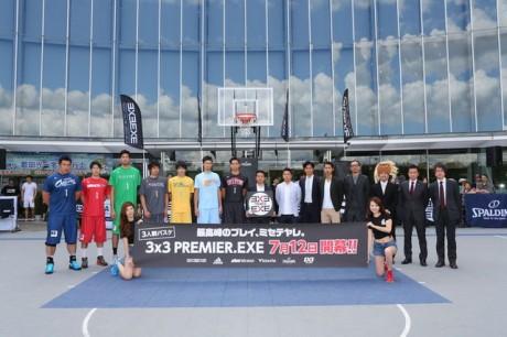 3x3全7チームの選手代表とオーナー