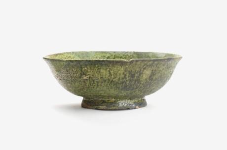 天神前遺跡第16地点出土 緑釉陶器・碗