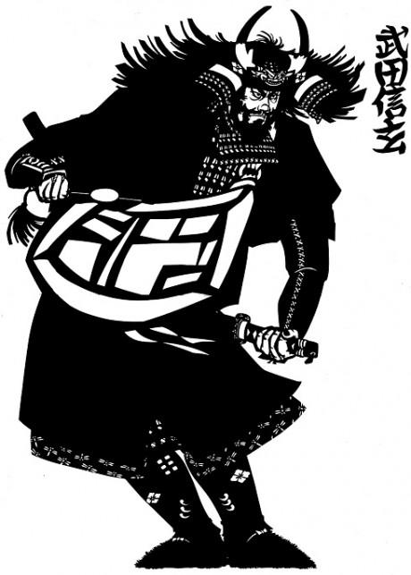 百鬼丸さんの作品「武田信玄」