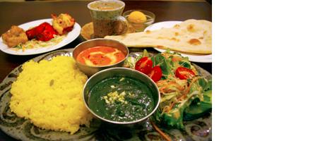 三浦郡葉山町にオープンした北インド料理店「あっぷーがる」で出される料理