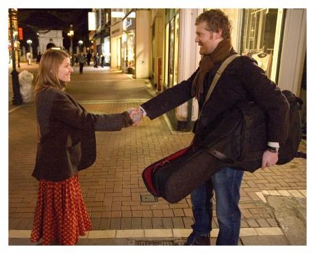 今回上映の映画『Once ダブリンの街角で』の宣材写真