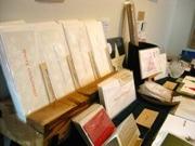books mobloで行われている「クリスマスカッパン展」の様子