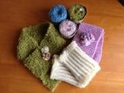 鎌倉のギャラリーで「小さな贈り物展」-手編みと手織りの3人展