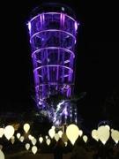 「バレンタインアイランド江の島」、光のアートが湘南の宝石を演出