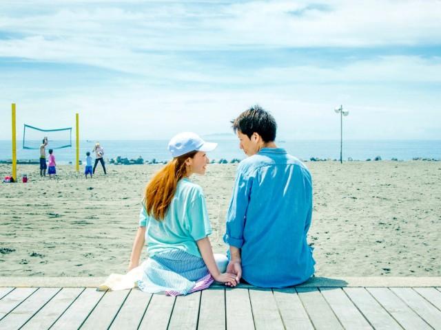 イベントのプロモーション用写真は湘南ベルマーレひらつかビーチパークのボードウオークで撮影した