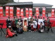 武士装束で「鎌倉もののふツアー」 散策や武士の食事体験も
