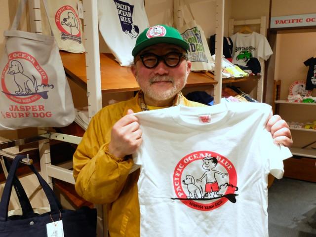 Tシャツ専門店「PACIFIC OCEAN BLUE」 生まれ故郷の鎌倉に初の直営店