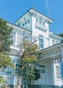 葉山の皇族別邸で地元アーティストが企画展 有形文化財登録記念、ライブペインティングも