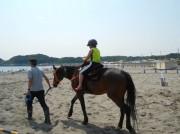 鎌倉で引き馬乗馬体験 かつて馬と共存した文化復活目指す