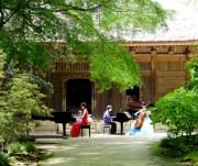 鎌倉の古刹にピアノとチェロの響き 公演後はワインも