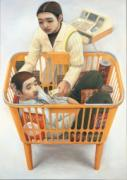平塚市美術館で「なんだろう展」 題名や作者名隠し観覧者の想像力かき立て