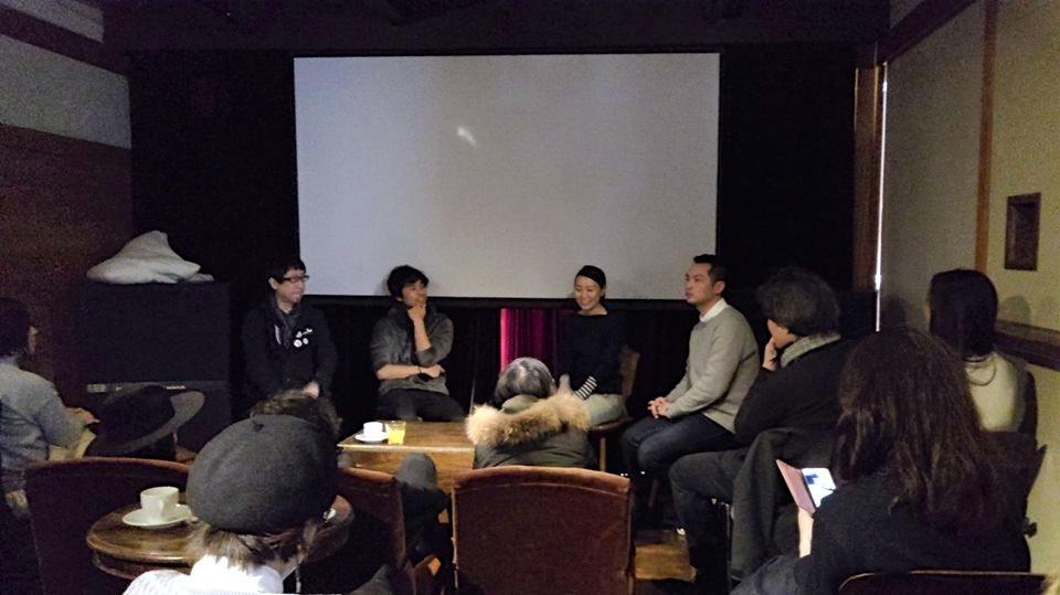 上映後には製作関係者がトークセッションで盛り上がった
