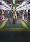 「Just Because!」というタイトルは単線のため駅で車両が行き違うシーンがヒントになったという