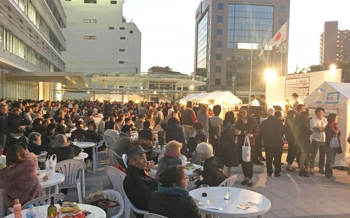 ランキング1位に輝いた「藤沢ワイン祭り」の当日の様子