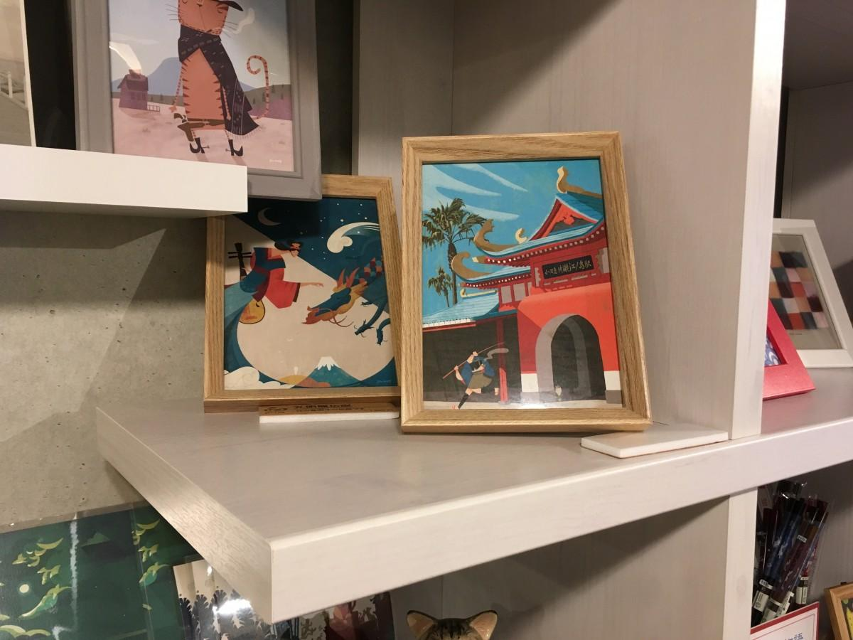 貸しスペースとして提供を始めたボックスと現在展示販売している作品