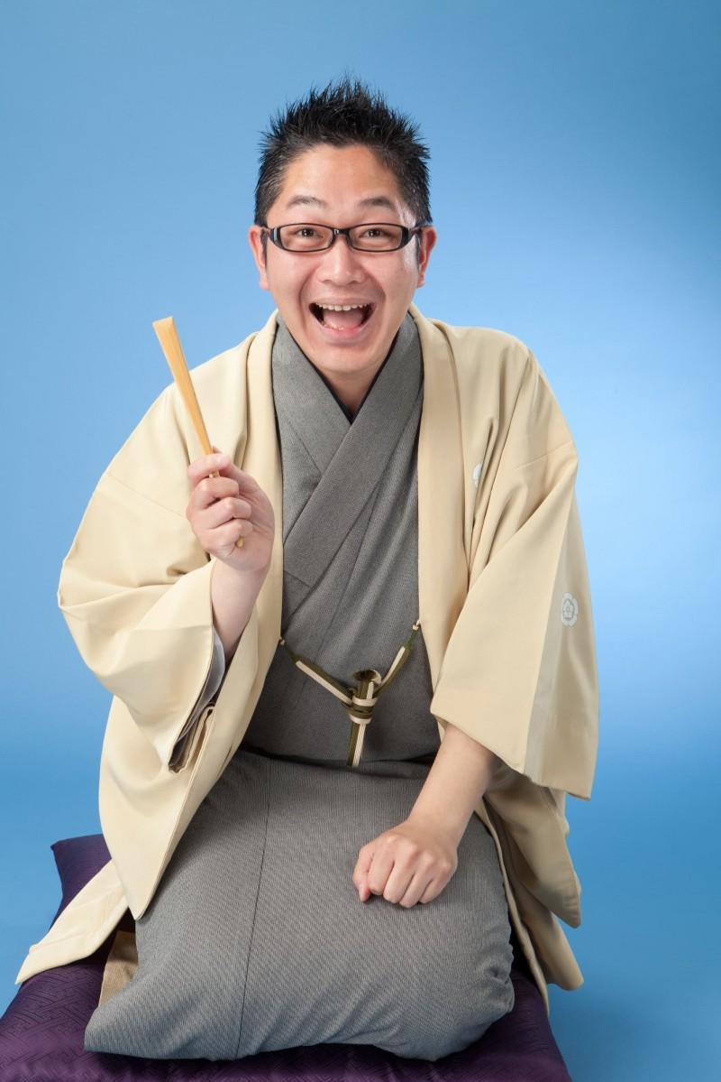 藤沢に縁のある落語家、春風亭昇也さん
