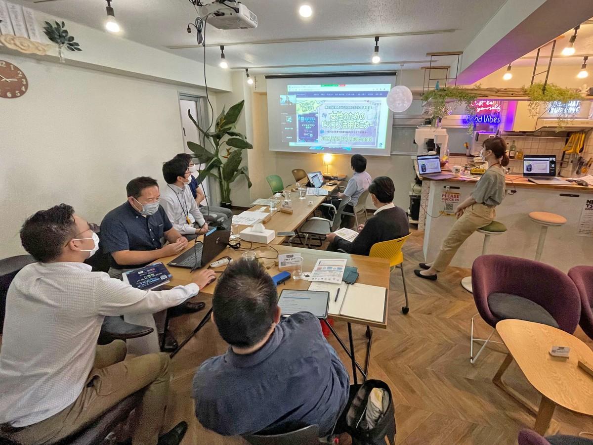 6月22日にコワーキングスペースNEKTON TSUJIDOUで開催された説明会の様子。