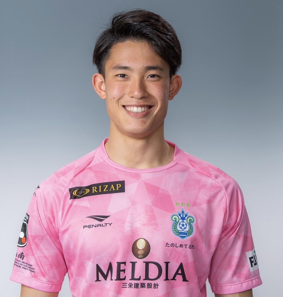 東京五輪サッカーU-24日本代表に選出された湘南ベルマーレ谷選手