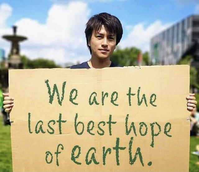 環境活動家の谷口さんがドイツの街頭から始めた活動は1年半で日本国内720回以上の講演となった