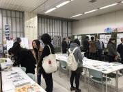 周南市でデザイン学校の卒業・進級制作展 JR徳山駅で初開催