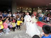 光市役所で結婚式 市長や市民ら約120人が祝福