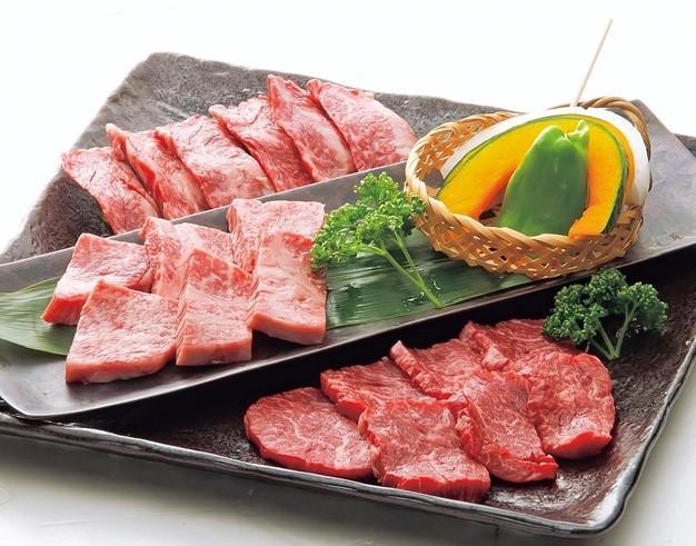 黒毛和牛の熟成肉盛り