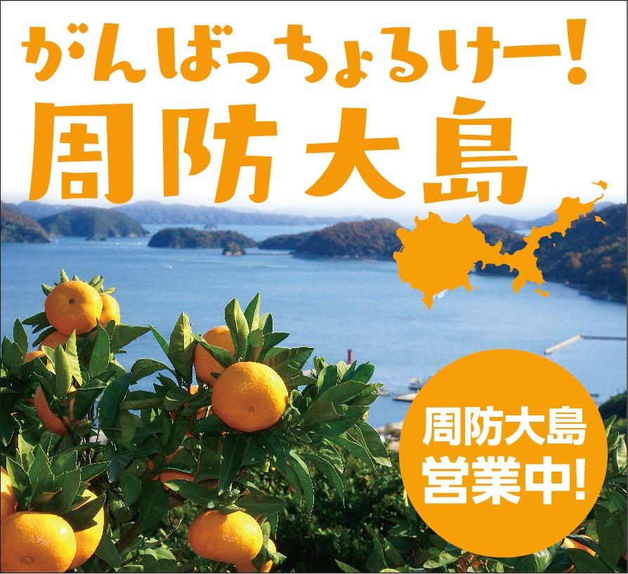 「がんばっちょるけー!周防大島フェア」のポスター