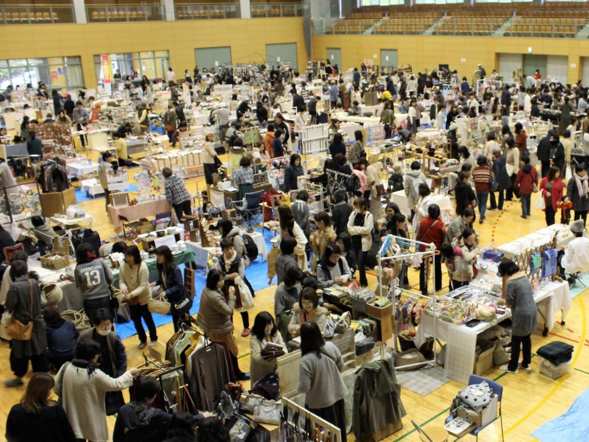 下松スポーツ公園体育館で開催されたイベントの様子