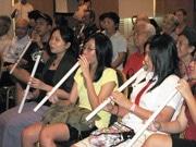 邦楽演奏グループがワークショップ開催-日本文化の魅力を伝える